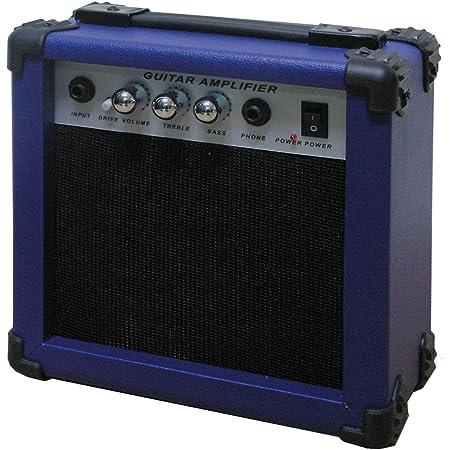 Amplificador guitarra azul AMP10ABL: Amazon.es: Instrumentos ...