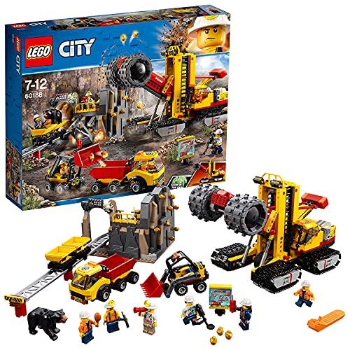 lego city vulcano explorer LEGO 60188 City Mining Macchine da miniera (Ritirato dal Produttore)