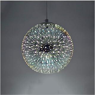Vintage Hängeleuchte Glastropfen Decken Deko Bar Industrial Lampe