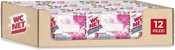 47 opinioni per Wc Net Tavoletta Candeggina Profumata 3 Effect, Detergente Igienizzante Solido