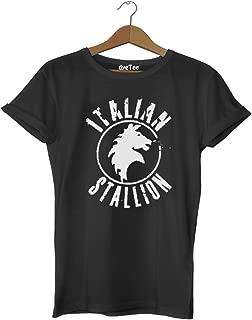Rocky Balboa Italian Stallion Tişört - Dyetee
