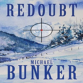 REDOUBT audiobook cover art