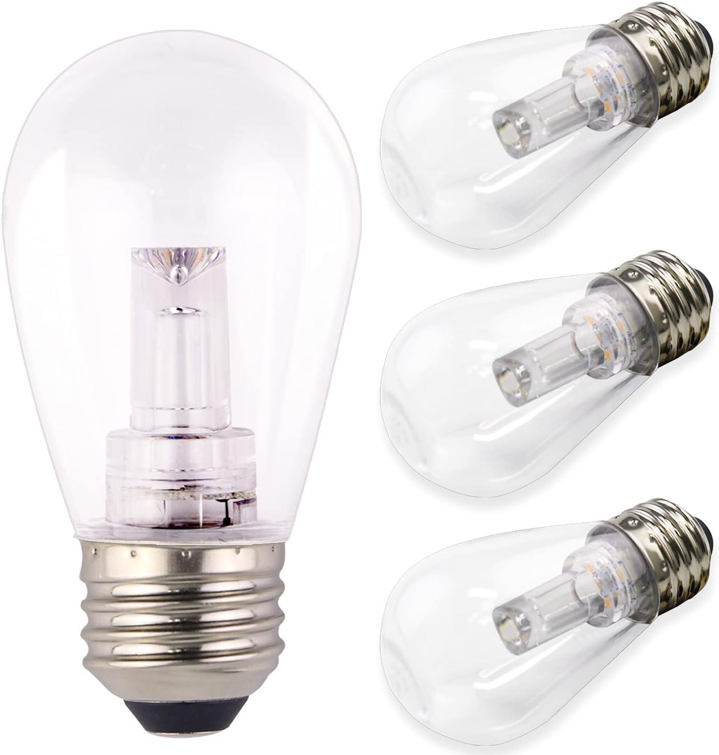 AVEVA Product 4 Pack LED S14 Temperature-95 Genuine Bulb Color Voltage-2100k 12V