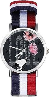 Snoopy reloj de ocio para adultos, moderno, hermoso y personalizado aleación Shell casual deportivo reloj de pulsera para ...