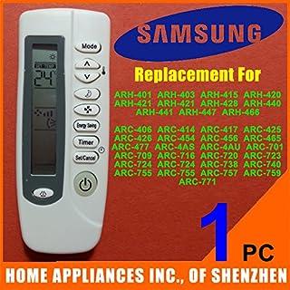 ARBUYSHOP - Mando a distancia para ventana de aire acondicionado portátil Samsung Split compatible con ARH-401 ARH-403 ARH-415 ARH-420 ARH-421