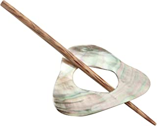 shell shawl pin