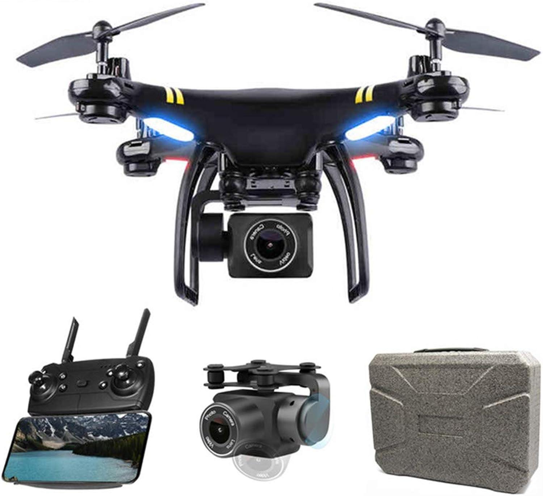 Xianxian88 FPV-Fernbedienung Drohne, 1080P HD-Kamera-Drohne, WiFi-Handy-Steuerung GPS-Ortungsflug kopflosen, einstellbare Weitwinkeldrohne