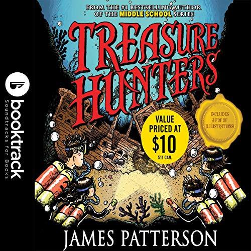 Treasure Hunters: Danger Down the Nile audiobook cover art