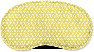 Mouse Ears Polka Dots Yellow - Sleeping Mask - Sleeping Mask