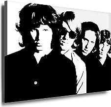Diseño de the Doors - Jim Morrison imagen 100 x 70 cm - decorativo en bastidor - lienzo imágenes, fotografía, carteles, diseño Pop Art, arte - decoración imágenes
