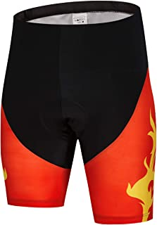 JPOJPO Cycling Shorts Men, Men's MTB Bike Shorts with Paded Biking Tights