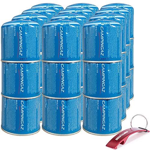 Bricolemar Cartucho C206 Campingaz (Caja 36 Unidades Edición Llavero Destapador de Regalo!)