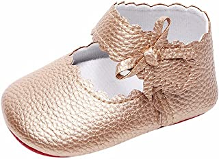 0c213c36f6f67 DAY8 Chaussure Bébé Fille Princesse Mariage Chaussure Bébé Fille Premier  Pas Bapteme Chic Bowknot Fashion Sneakers