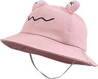 Cartoon Baby Bucket Hat Toddlers Boys Sun Protection Hats Kids Girls Summer Beach Cap 2-4 Years