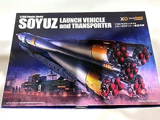 プラスチックモデル ソユーズロケット 搬送列車