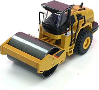 Die-Cast Alloy Road Roller Model Construction Vehicle Toys 1/50 Scale Alloy Models Road Roller Construction Vehicle Model ...