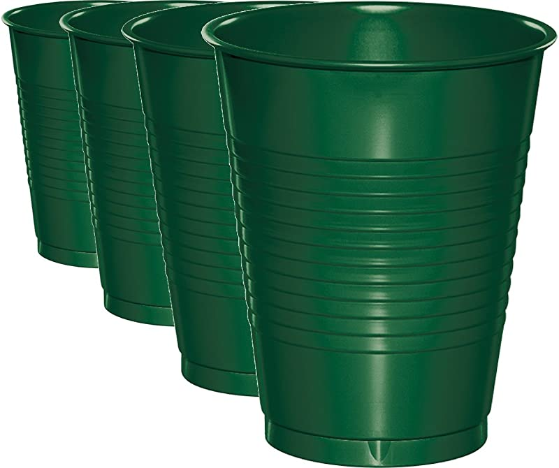 Creative Converting 16 Fluid Ounce Plastic Tumbler Cups 32 Pack
