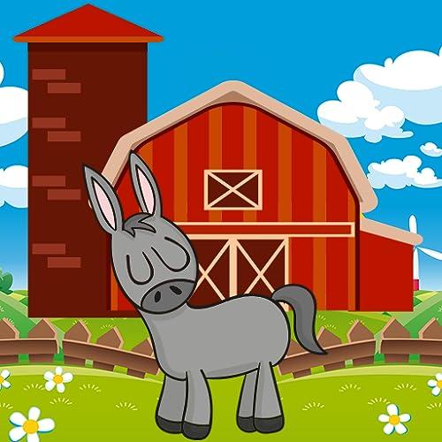 Animales de granja nombre y sonido - Niños Aprender