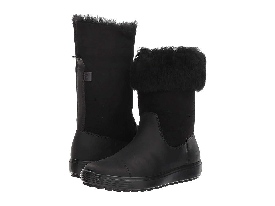 ECCO Soft 7 Tred Boot (Black/Black) Women
