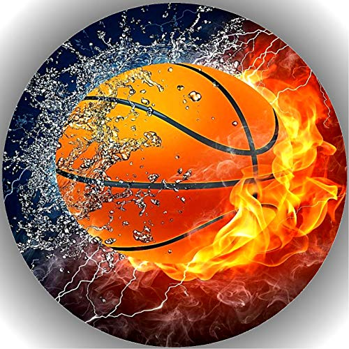 Premium Esspapier Tortenaufleger Tortenbild Basketball T23