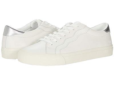 Madewell Sidewalk Low Top Sneaker in Metallic Wave (Silver Multi) Women