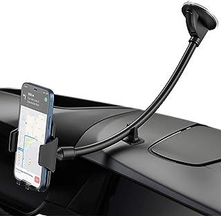 YOSH Telefoonhouder Auto met Lange Zwanenhals, Mobiele Telefoonhouder Auto voor Voorruit, Car Phone Holder Auto-Accessoire...