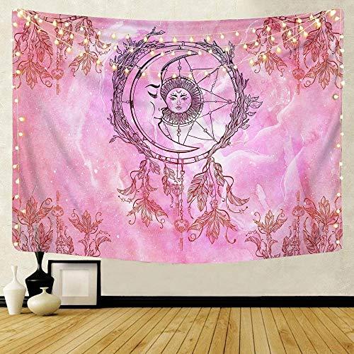 KHKJ Mandala patrón Tapiz Indio decoración para Colgar en la Pared Toalla de Playa Bohemia Manta Fina Yoga Shaw A5 95x73cm