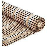 LXJYMX-Bamboo curtain Cortinas de bambú, Cortinas, persianas enrollables, persianas enrollables domésticas IKEA, Cortinas Opacas Chinas (Color : A, Tamaño : 135x225)