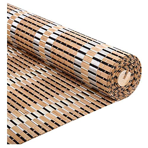 LXJYMX-Bambou Rideau Rideaux en Bambou, Rideaux, Stores à Enrouleur, Stores à Enrouleur IKEA, Rideaux occultants à cloison (Couleur : A, Taille : 135x225)