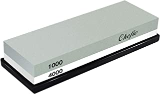 Whetstone Sharpening Stone 1000/4000 Grit – Chefic Premium Knife Sharpener Stone..