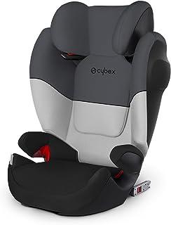 Cybex Silla de coche grupo 2/3, Solution M-Fix SL, Para coches con y sin Isofix, Grupo 2/3 (15-36 kg), Desde los 3 hasta los 12 años, Gris (Gray Rabbit)