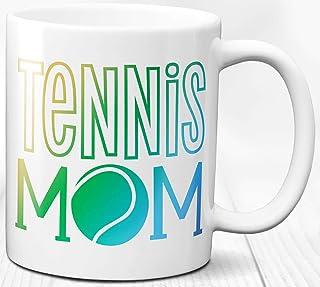 Taza de café para mamá de tenis 330 ml Taza de cerámica para mamá Regalo especial para mamá deportiva