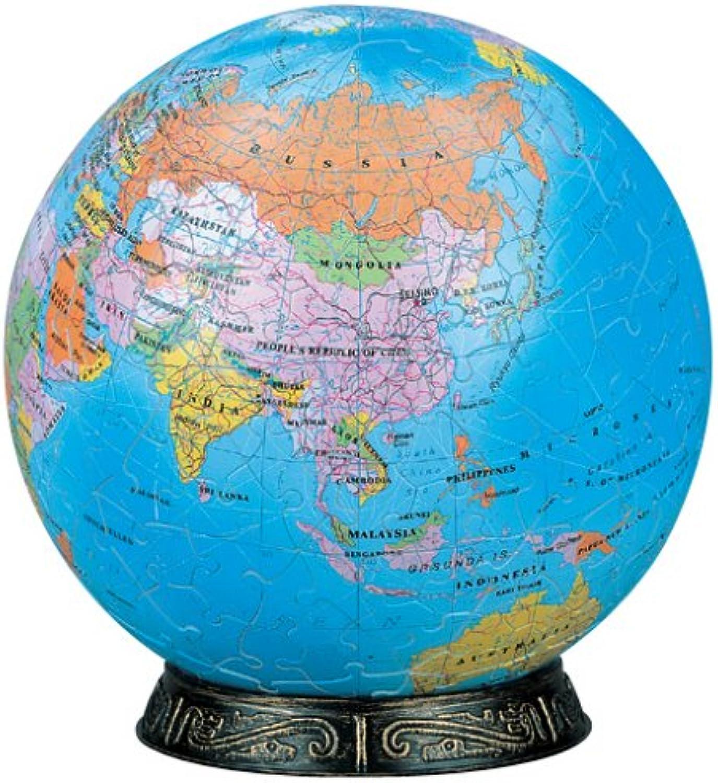 3D-Kugel-Puzzle 240 Stck weltweit (Englisch) 2024-102 (Durchmesser ca. 15,2 cm) (Japan Import   Das Paket und das Handbuch werden in Japanisch)