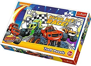 Blaze and the Monster Machines 100 Piece Puzzle Ages 5+