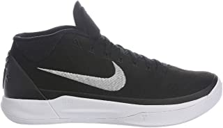 Kobe A.D. Mens Basketball Shoes (10, Black/Metallic Silver/White)