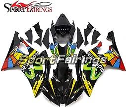 Sportfairings Full Injection ABS Plastic Motorcycle Colorful Black Fairing Kit For Yamaha YZF600 R6 2008-2015 2016 Bodywork