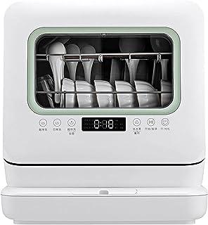Lave-vaisselle De Comptoir Portable, Lave-vaisselle Portable Professionnel Avec Réservoir D'eau Intégré De 6L, 5 Programme...