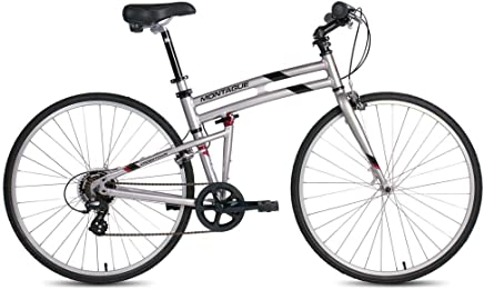 featured product Montague Crosstown 7 Speed Folding Hybrid Commuter Bike