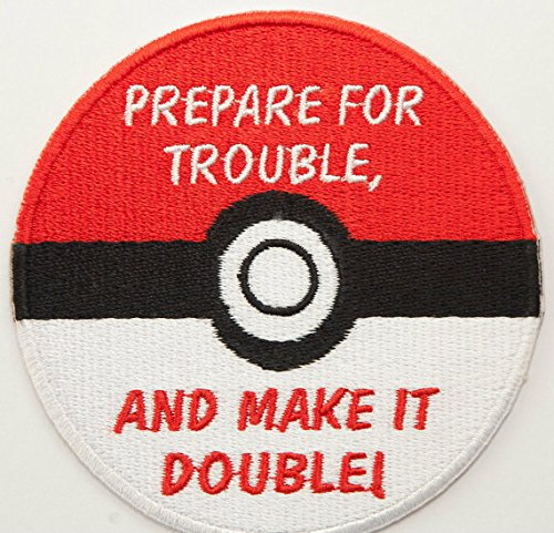 Team Rocket de poké Ball Pokemon parche bordado insignia con ...