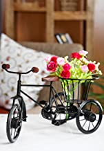 PINDIA Rickshaw Flower Holder Fancy Gift Item House Decorative Home Decor Wooden