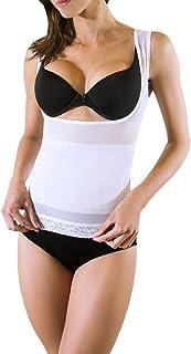 Camiseta de compresión para Mujer Corrige Postura Tipo Colo