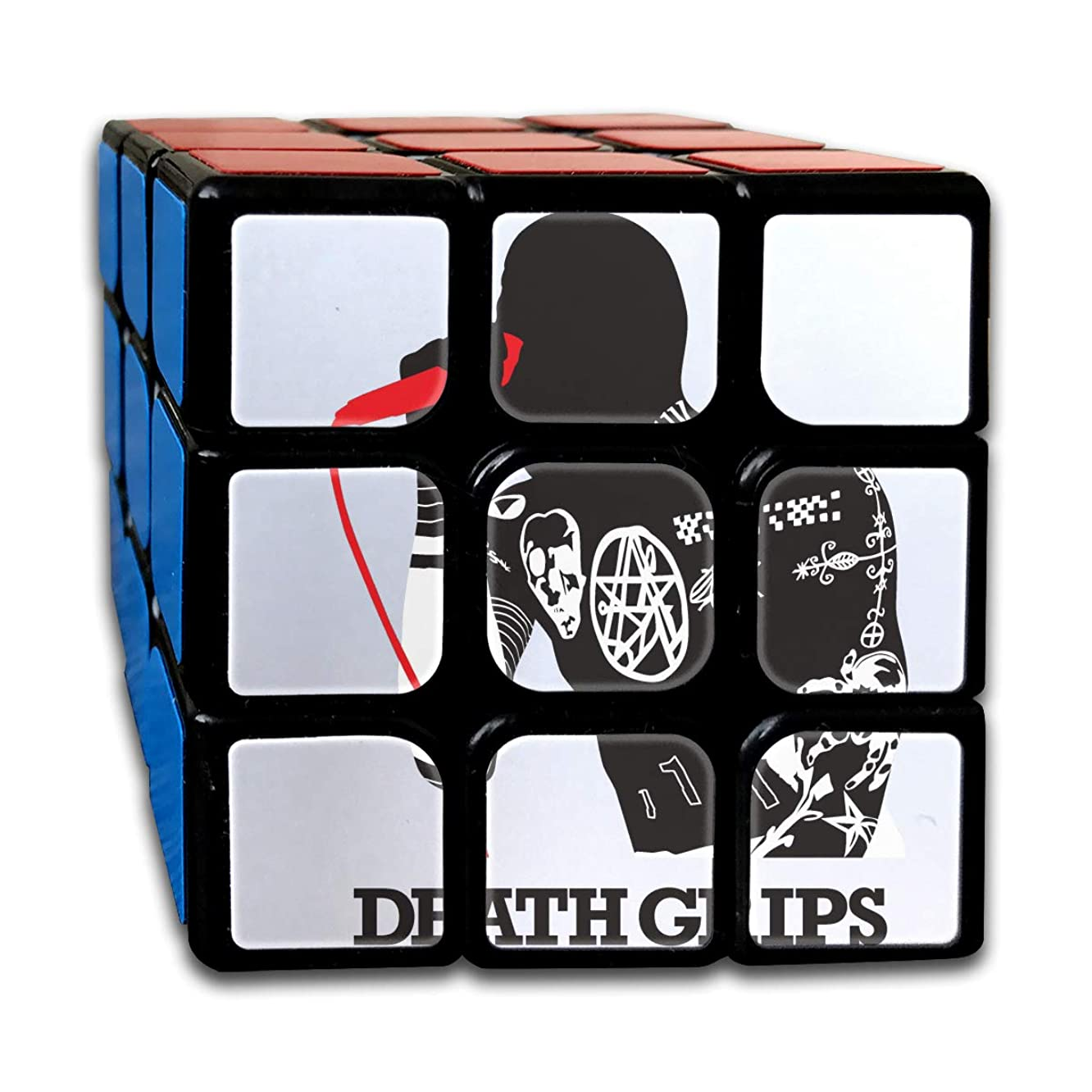 DaihAnle Death Grips 3X3 Smooth Corner Custom Puzzle Cube Cube, Easy to Twist, Advanced Turn, Environmentally Friendly ABS Plastic