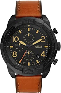 Fossil Bronson Chronograph Luggage Leather FS5714