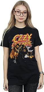 Ozzy Osbourne Women's Vintage Werewolf Boyfriend Fit T-Shirt