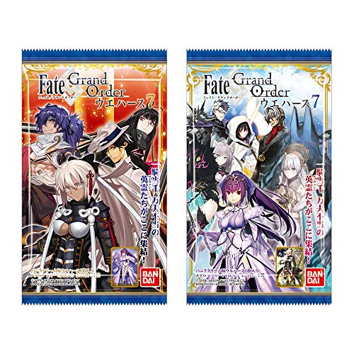 Fate/Grand Order Wafer 7 20Pack BOX (CANDY TOY)