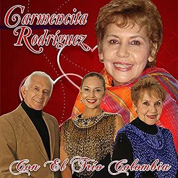 Carmenza Rodríguez Con el Trío Colombia