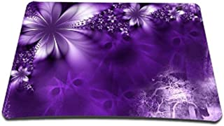 ToLuLu Regular Size (9.2 x 7.7 inch) Mouse pad Mouse Mat Mouse Mice Suit for Optical Laser Mouse, Purple -Purple