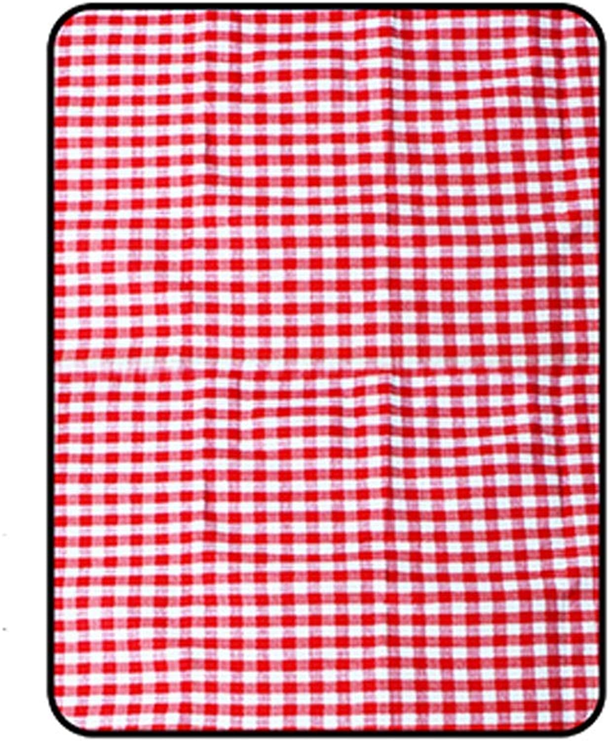 YZOOL Thicken Extra Large Moisture-Proof Mat Outdoor Picnic Mats Ins Wind Net Red Portable Spring Tour Park Light Folding Mats Can Be Portable Side Back Waterproof and Moisture-Proof