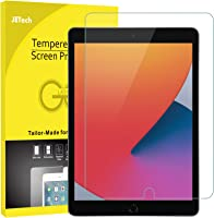 JETech Screen Protector compatible with iPad (10.2-Inch, 2021/2020/2019 Model, 9/8/7 Generation), Tempered Glass Film