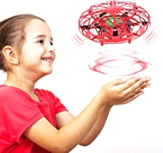 Delicacy Hand Operated Drone for Kids, Hands Free Mini Drones Helicopter with 2 Speed,360° Rotating Flying Ball Drone for Kids Toddlers, Indoor Flying Toys Gifts for Boys and Girls
